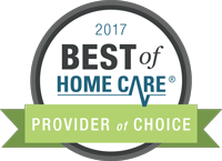 2017 Best of Home Care Provider of Choice logo